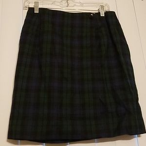 ❣Ann Taylor❣ Plaid Wool Skirt